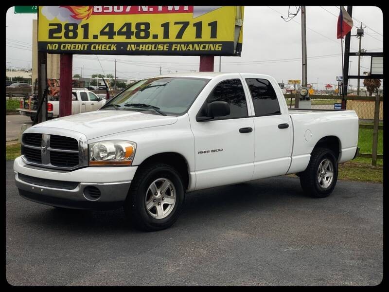 2006 Dodge Ram Pickup 1500 for sale at ASTRO MOTORS in Houston TX