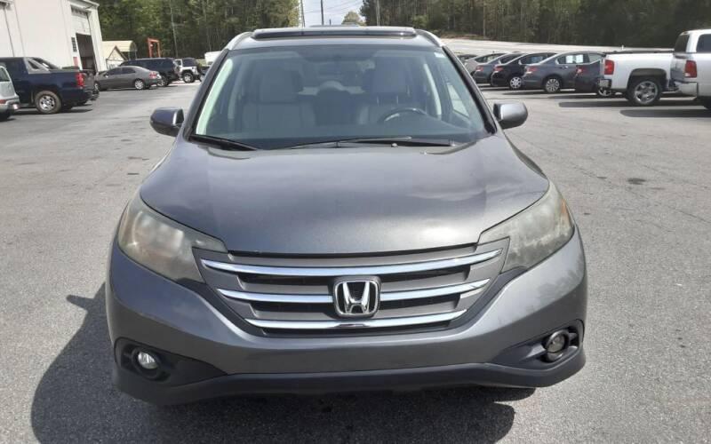 2013 Honda CR-V for sale at Mathews Used Cars, Inc. in Crawford GA