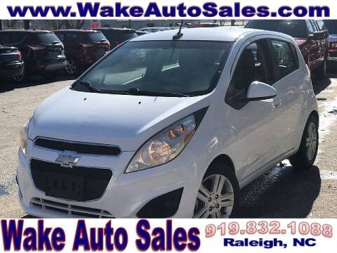 2014 Chevrolet Spark for sale at Wake Auto Sales Inc in Raleigh NC
