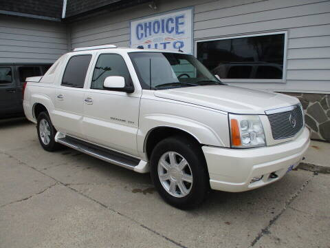 2004 Cadillac Escalade EXT for sale at Choice Auto in Carroll IA