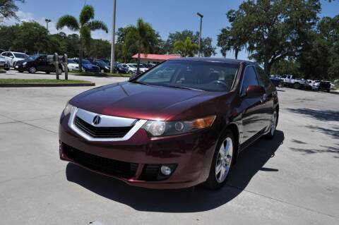 2010 Acura TSX for sale at STEPANEK'S AUTO SALES & SERVICE INC. in Vero Beach FL