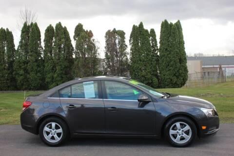 2014 Chevrolet Cruze for sale at D & B Auto Sales LLC in Washington Township MI