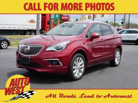 2018 Buick Envision for sale at Autowest Allegan in Allegan MI