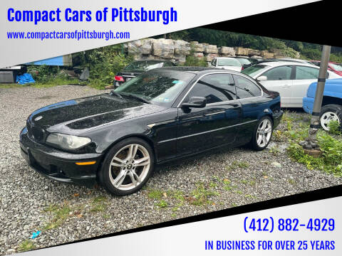 2004 BMW 3 Series for sale at Compact Cars of Pittsburgh in Pittsburgh PA