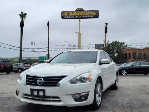 2014 Nissan Altima for sale at A MOTORS SALES AND FINANCE - 10110 West Loop 1604 N in San Antonio TX