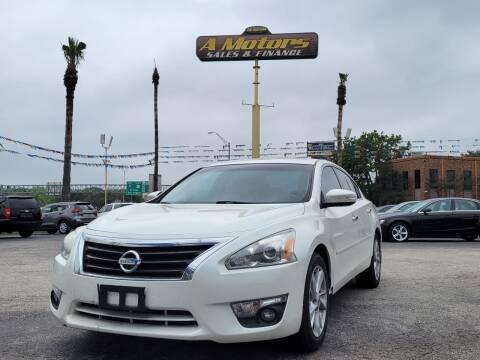 2014 Nissan Altima for sale at A MOTORS SALES AND FINANCE - 10110 West Loop 1604 N in San Antonio TX