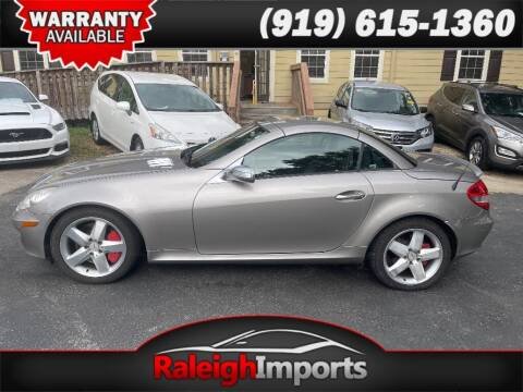 2005 Mercedes-Benz SLK for sale at Raleigh Imports in Raleigh NC