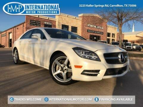 2014 Mercedes-Benz CLS for sale at International Motor Productions in Carrollton TX