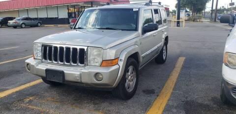 2008 Jeep Commander for sale at C.J. AUTO SALES llc. in San Antonio TX
