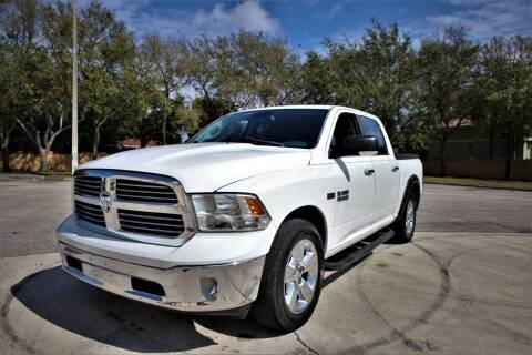 2013 RAM Ram Pickup 1500 for sale at Easy Deal Auto Brokers in Hollywood FL