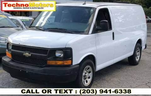 2014 Chevrolet Express Cargo for sale at Techno Motors in Danbury CT