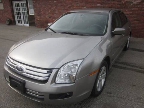 2008 Ford Fusion for sale at Tewksbury Used Cars in Tewksbury MA