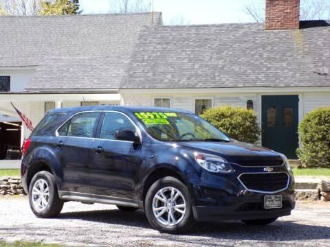2017 Chevrolet Equinox for sale at The Auto Barn in Berwick ME