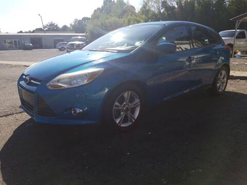 2012 Ford Focus for sale at TR MOTORS in Gastonia NC