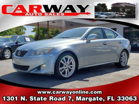 2006 Lexus IS 250 for sale at CARWAY Auto Sales in Margate FL