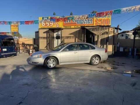 2012 Chevrolet Impala for sale at DEL CORONADO MOTORS in Phoenix AZ