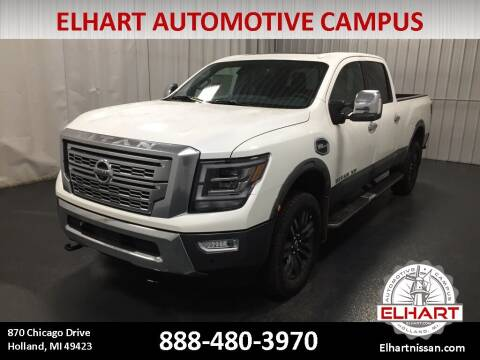 2021 Nissan Titan XD for sale at Elhart Automotive Campus in Holland MI