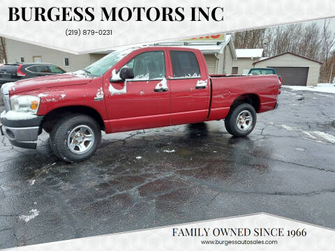 2008 Dodge Ram Pickup 1500 for sale at Burgess Motors Inc in Michigan City IN