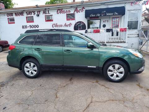 2010 Subaru Outback for sale at Class Act Motors Inc in Providence RI