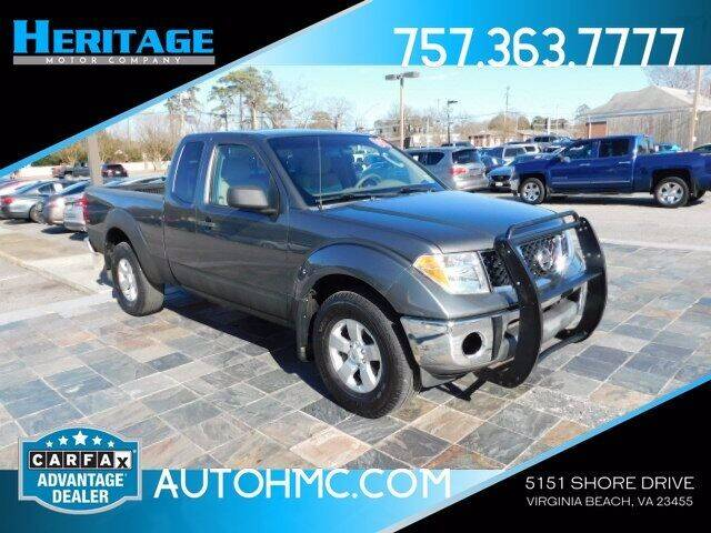 2008 Nissan Frontier for sale at Heritage Motor Company in Virginia Beach VA