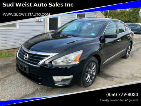 2015 Nissan Altima for sale at Sud Weist Auto Sales Inc in Maple Shade NJ