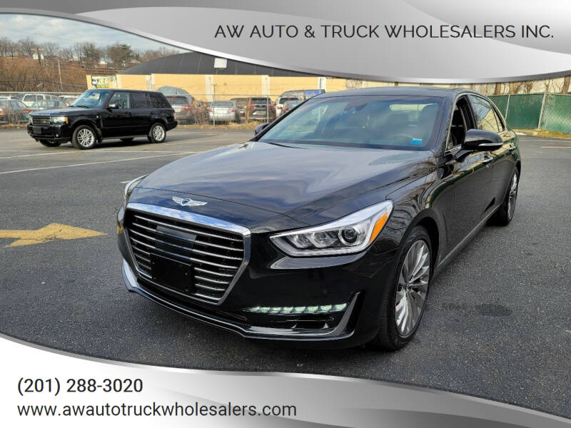 2018 Genesis G90 for sale at AW Auto & Truck Wholesalers  Inc. in Hasbrouck Heights NJ