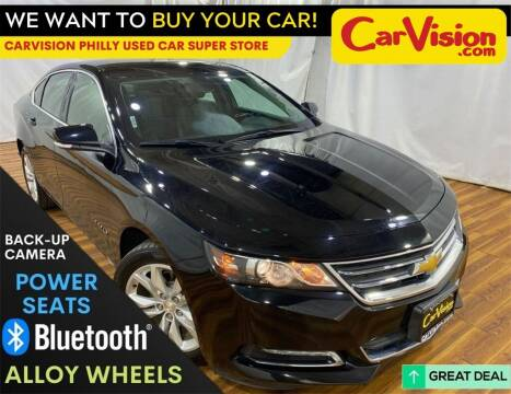 2019 Chevrolet Impala for sale at Car Vision Mitsubishi Norristown - Car Vision Philly Used Car SuperStore in Philadelphia PA