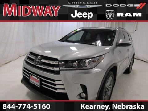 2017 Toyota Highlander for sale at MIDWAY CHRYSLER DODGE JEEP RAM in Kearney NE