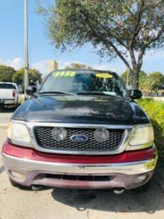 2003 Ford F-150 for sale at DAN'S DEALS ON WHEELS in Davie FL