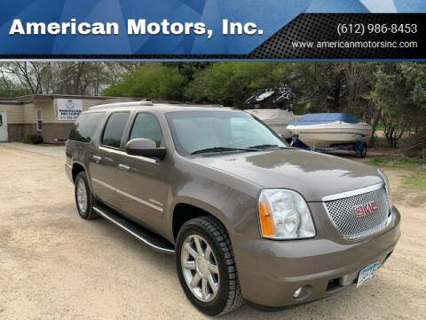 2013 GMC Yukon XL for sale at American Motors, Inc. in Farmington MN