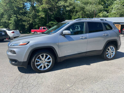 2016 Jeep Cherokee for sale at Adairsville Auto Mart in Plainville GA