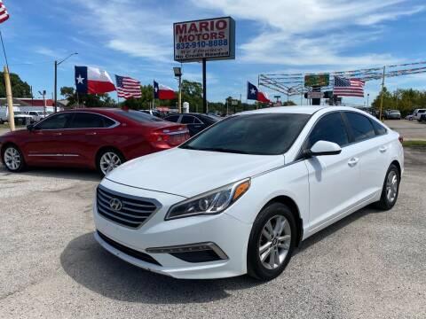 2015 Hyundai Sonata for sale at Mario Motors in South Houston TX