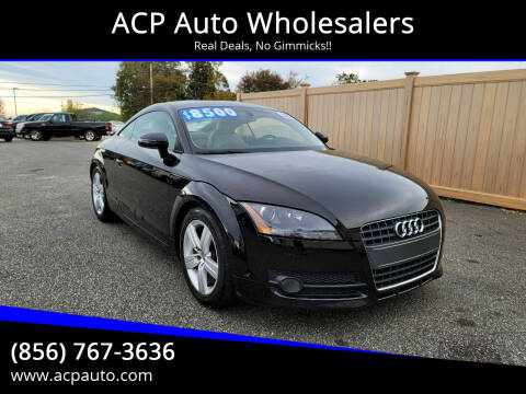 2008 Audi TT for sale at ACP Auto Wholesalers in Berlin NJ