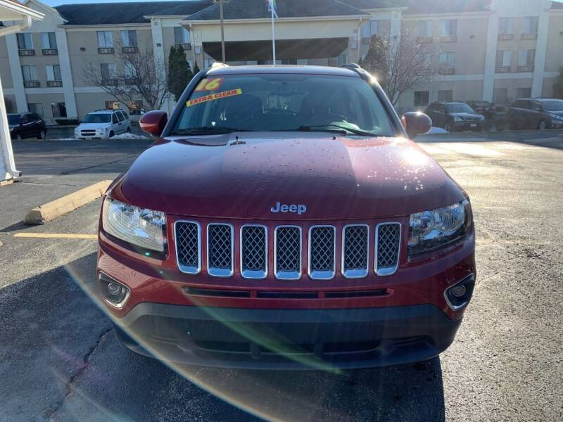 2016 Jeep Compass for sale at RED TAG MOTORS in Sycamore IL