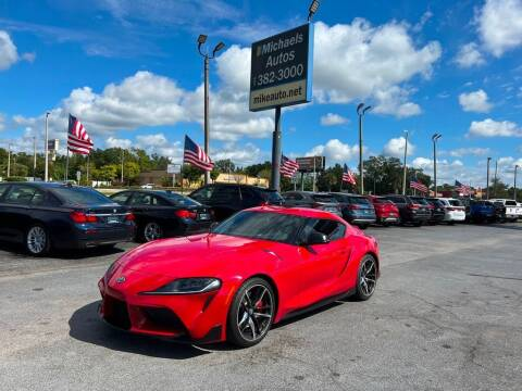 2020 Toyota GR Supra for sale at Michaels Autos in Orlando FL