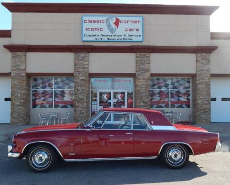 1963 Studebaker Hawk for sale at Iconic Motors of Oklahoma City, LLC in Oklahoma City OK