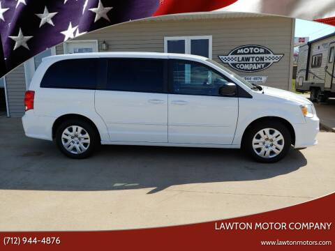 2016 Dodge Grand Caravan for sale at Lawton Motor Company in Lawton IA