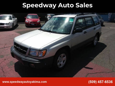 2000 Subaru Forester for sale at Speedway Auto Sales in Yakima WA