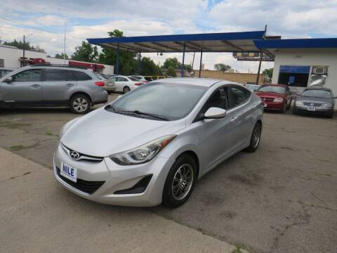 2016 Hyundai Elantra for sale at Nile Auto Sales in Denver CO