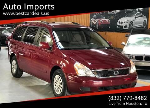 2012 Kia Sedona for sale at Auto Imports in Houston TX