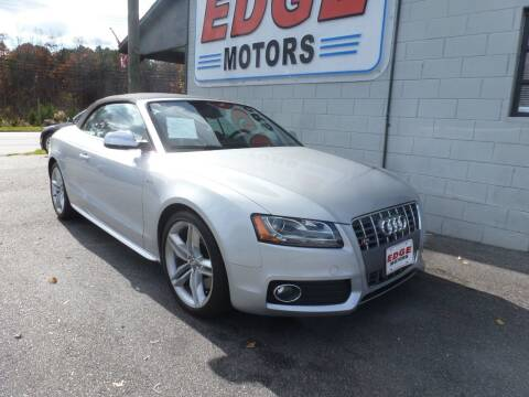 2011 Audi S5 for sale at Edge Motors in Mooresville NC