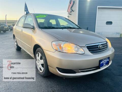 2008 Toyota Corolla for sale at Transportation Center Of Western New York in Niagara Falls NY