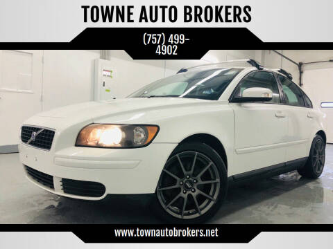 2007 Volvo S40 for sale at TOWNE AUTO BROKERS in Virginia Beach VA