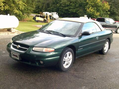1996 Chrysler Sebring for sale at Clucker's Auto in Westby WI