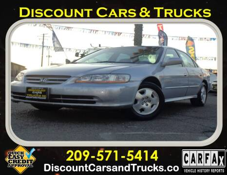 2002 Honda Accord for sale at Discount Cars & Trucks in Modesto CA