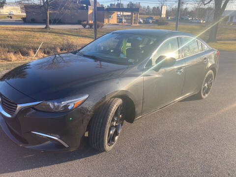 2016 Mazda MAZDA6 for sale at Augusta Auto Sales in Waynesboro VA