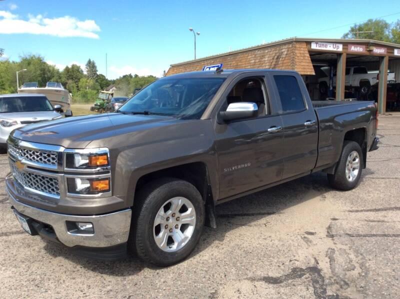 2014 Chevrolet Silverado 1500 for sale at MOTORS N MORE in Brainerd MN