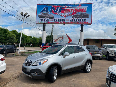 2015 Buick Encore for sale at ANF AUTO FINANCE in Houston TX