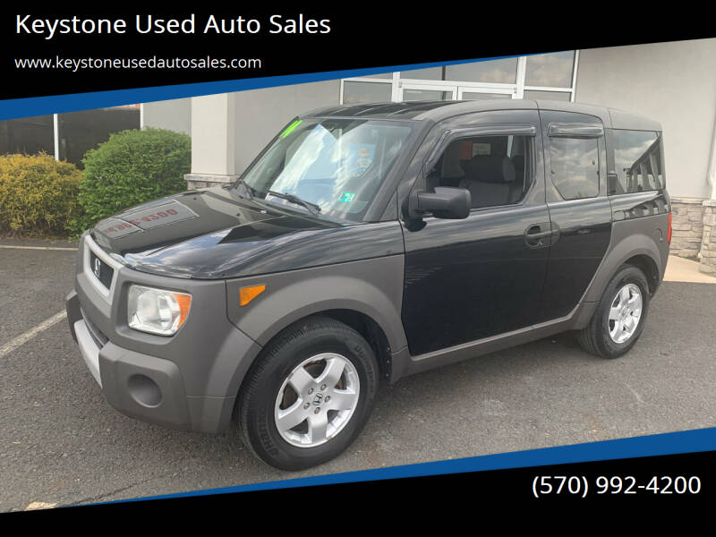 2004 Honda Element for sale at Keystone Used Auto Sales in Brodheadsville PA