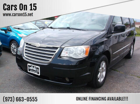 2009 Chrysler Town and Country for sale at Cars On 15 in Lake Hopatcong NJ